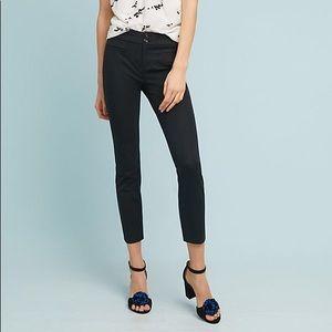 Anthro Essential Slim Crop Trousers